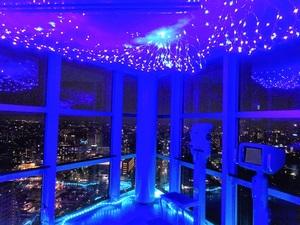 千葉ポートタワーで「天空七夕まつり」が6月19日から7月7日まで開催【東関東自動車道 湾岸習志野ICより車で約11km】