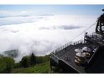 標高1770mから雄大な雲海を眺めよう! 竜王マウンテンパーク「SORA terrace」営業開始【上信越自動車道/上信越道より信州中野ICより車で約15km】